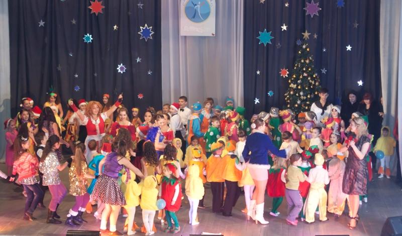 Отчетный концерт танцевальной студии Эксклюзив
