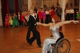 Спортивные Бальные танцы на колясках