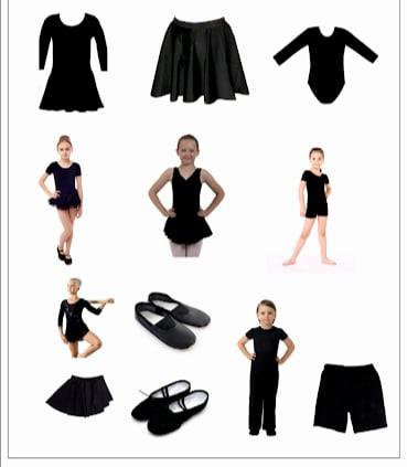 Cum trebuie sa arate uniforma de dans?