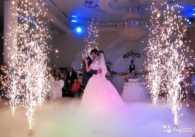Спецэффекты на свадьбу в Молдове