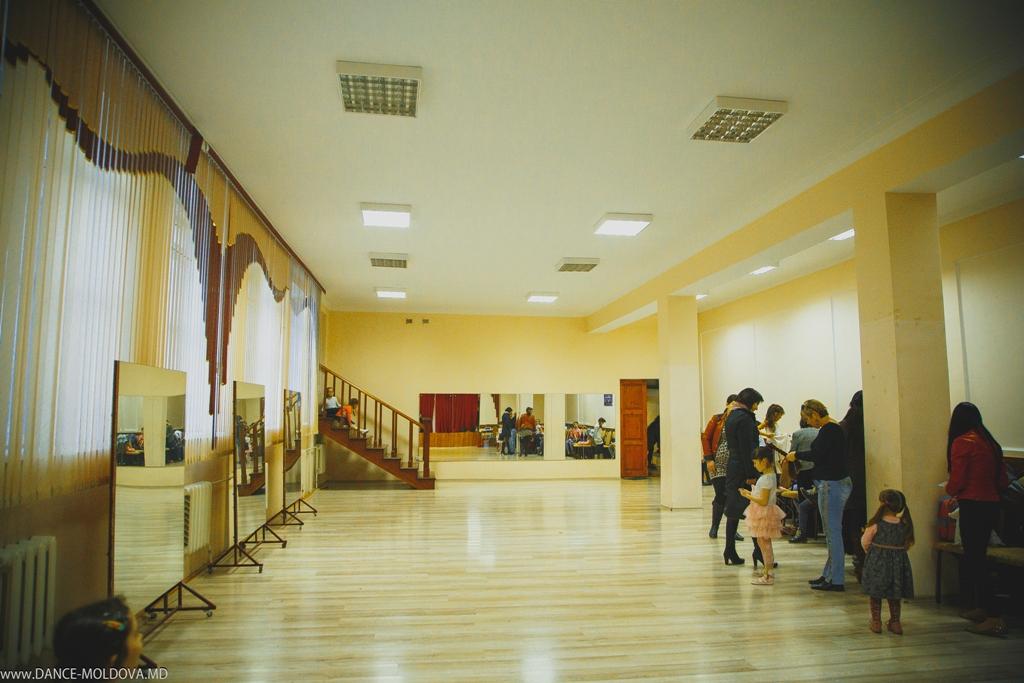 Открытие нового светлого и уютного  танцевального зала.